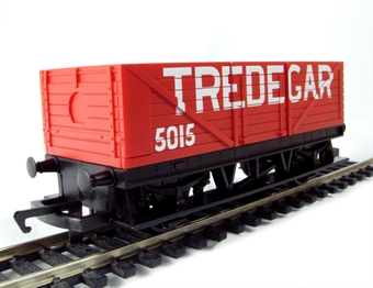 "R6370 LWB open wagon in ""Tredegar"" red - Railroad Range £4"
