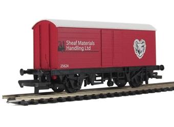 "R6474 Long Wheel Base Box Van ""Sheaf Materials Handling Ltd"" - Railroad Range"
