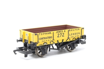 "R6600-PO02 3 plank wagon ""Topham, Jones & Railton"" - Pre-owned - Like new"