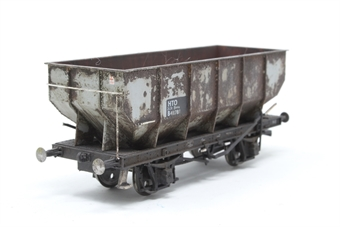 R6677-PO02  BR 21 Ton Hopper Wagon 'E270706' - Pre-owned - weathered - one coupling removed - Imperfect box £12