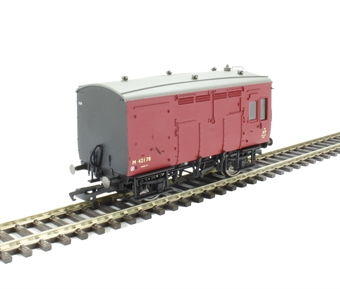 R6679A ex-LMS Horse Box M42178 in BR crimson