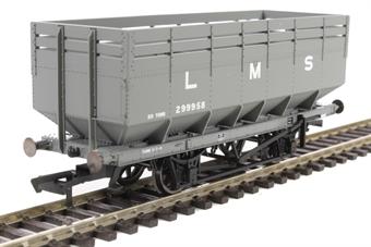 R6731A 20 Ton Coke Wagon in LMS livery