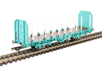R6791 OTA timber wagon in blue with parallel stanchions