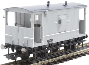 R6834A LNER 20 ton 'Toad E' brake van E1788614 in BR grey
