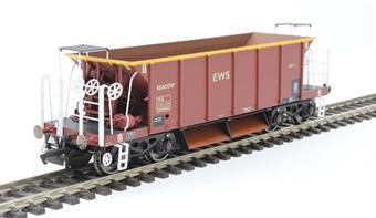R6846 YGB Seacow bogie ballast hopper DB980053 in EWS maroon