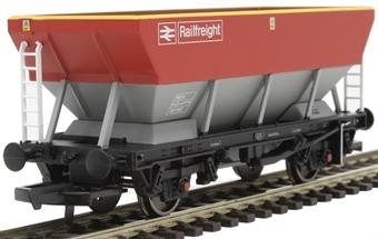 R6853 HEA hopper wagon 361188 in Railfreight red