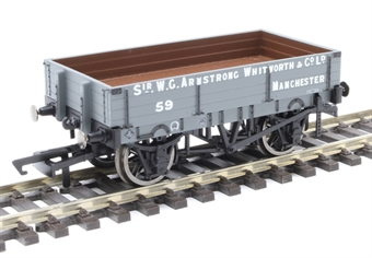 "R6859 3-plank open wagon ""Armstrong Whitworth & Co. Ltd, Manchester"""
