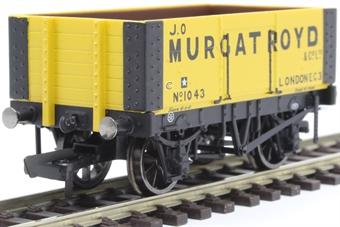 """R6873 6-plank open wagon """"J.O. Murgatroyd"""""""