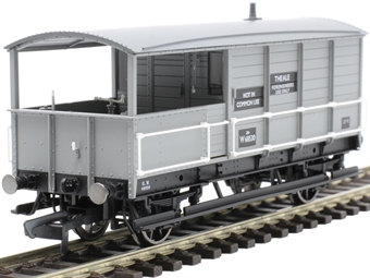 R6922 20 ton AA15 'Toad' brake van W68530 in BR grey