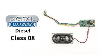 R7146 TTS digital sound decoder - Class 08 shunter