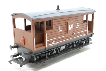 R718-PO15 L.M.S. 20 Ton Brake Van 730386 - Pre-owned - Like new