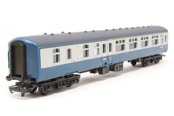 R723bfk-PO02 BR Mk2 Brake Corridor 1st in Blue/Grey (with lights) - Pre-owned - Like new - Imperfect box £14