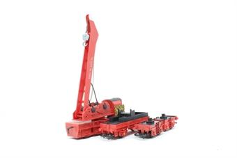 R739-PO18 75 Ton Operating Breakdown Crane DB966111 - Pre-owned - poor box