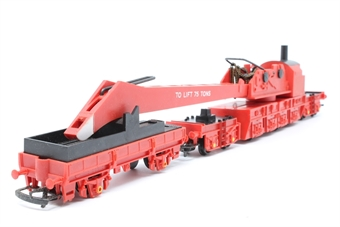 R739-PO27 75 Ton Operating Breakdown Crane DB966111 - Pre-owned - broken chain, missing hook, missing stabilisers, poor box