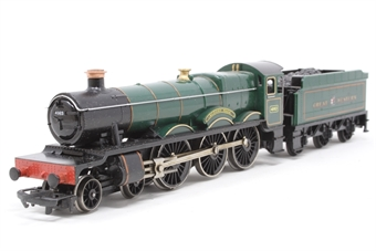 R759-PO22 Hall Class 4-6-0 'Albert Hall' 4983 in GWR Green - Pre-owned - Like new, imperfect box