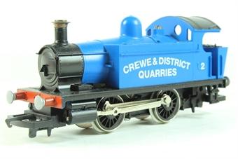 R796B Crewe & District Quarries 0-4-0T Locomotive 2