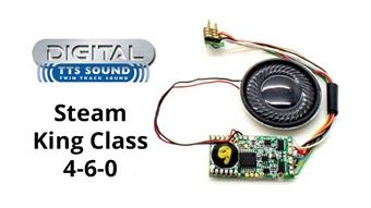 R8109 TTS DCC Sound Decoder with 8 pin plug - Class 6000 'King' 4-6-0 steam locomotive