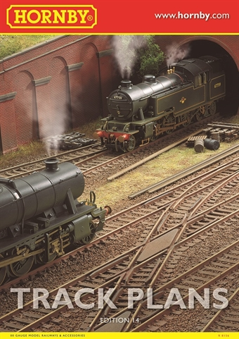 R8156 Hornby book of track plans - 14th Edition