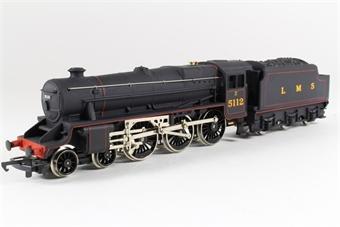 R840 Class 5 'Black 5' 4-6-0 5112 in LMS Black
