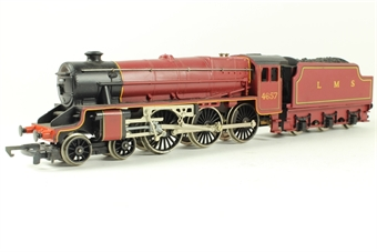 R842 Class 5 4-6-0 4657 in LMS Maroon