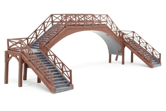 "R8641-PO13 Platform footbridge - Skaledale ""Railside"" range - Pre-owned - replacement box"