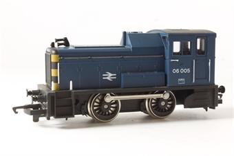 R874 Class 06 Shunter 06005 in BR Blue