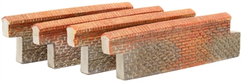 R8977 Brick Walling - Straight (4 per pack) £3.50