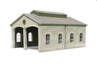 R9840 Granite Station Engine Shed