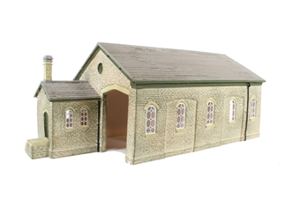 R9841 Stone built Midland Railway style goods shed