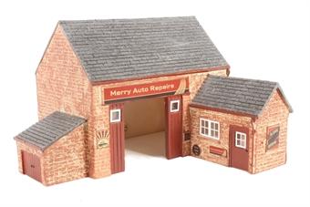 R9855 The Village Garage - Based on R9650