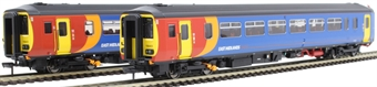 """RT156-115 Class 156 'Super Sprinter' 2-car DMU 156405 in East Midlands Trains livery - """"Derby / Crewe"""""""