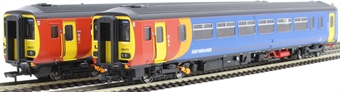 """RT156-116 Class 156 'Super Sprinter' 2-car DMU 156473 in East Midlands Trains livery - """"Lincoln / Leicester"""""""