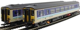 "RT156-314 Class 156 'Super Sprinter' 2-car DMU 156418 in BR Provincial 'Sprinter' livery - ""Liverpool / Norwich"""