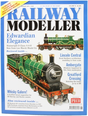 RailwayModeller1908 Railway Modeller magazine - August 2019
