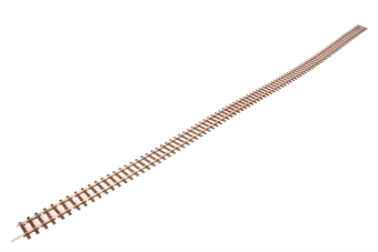 SL-108F 1 yard (91.5cm) length of Code 75 Wooden-sleeper nickel silver bullhead rail flexible track