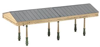 SS54 Station platform canopy - plastic kit