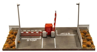 SSM323 Modern security gate, booth and barriers - plastic kit