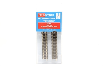ST-3001 ST-1 standard straight track - 87mm - pack of eight £10