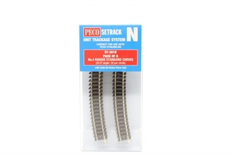 ST-3018 ST-18 fourth radius standard curve - pack of eight £16