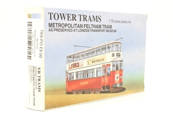 TK9-PO Metropolitan Feltham tram as preserved at London Transport Museum kit - Pre-owned - Like new