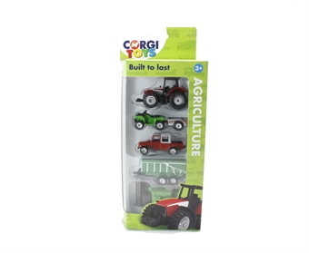 TY66093 Agriculture 5 vehicle pack