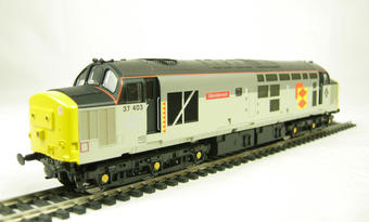 "V2014 Class 37/4 37403 ""Glendarroch"" in Railfreight Distribution sub-sector livery"
