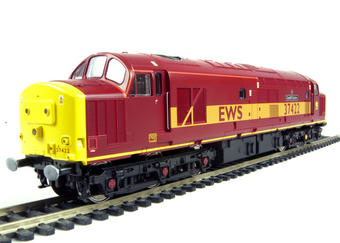 "V2020 Class 37/4 37422 ""Cardiff Canton"" in EWS livery"