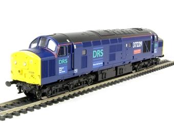 "V2028 Class 37/0 37229 ""Jonty Jarvis"" in DRS livery"