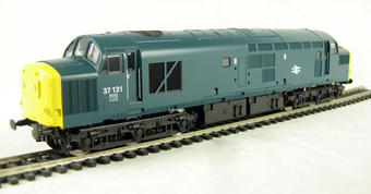 V2037 Class 37/0 37131 in BR blue livery