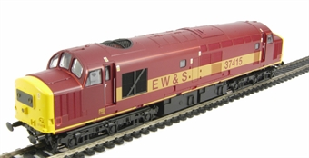 V2074 Class 37/4 37415 in EW&S livery