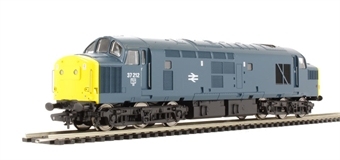 V2113 Class 37 37212 in BR blue with yellow ends