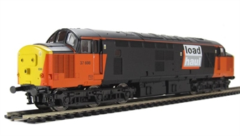 V2203 Class 37 37698 in Loadhaul Livery
