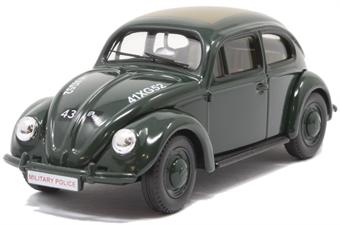 VA01209 VW Beetle Type 1, British Army Military Police