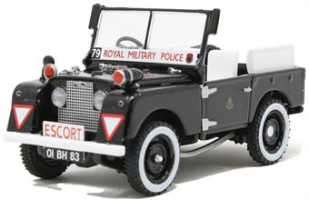 "VA11117 Land Rover Series 1 80"" - Military Police"